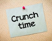 picture of crunch  - Crunch Time Message - JPG