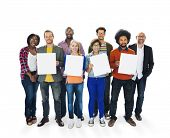 stock photo of diversity  - Diverse Diversity Ethnic Ethnicity Variation Team Unity Concept - JPG