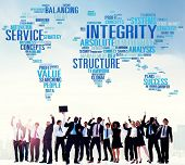 image of integrity  - Integrity Structure Service Analysis Value Service Concept - JPG