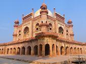 stock photo of mughal  - Tomb of Safdarjung in New Delhi India - JPG