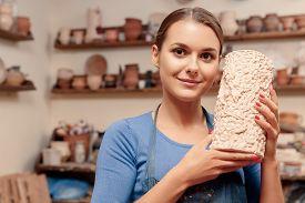 stock photo of pottery  - Pottery art - JPG