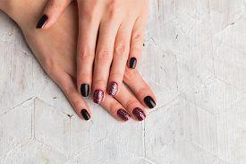 stock photo of  art  - Beautiful manicure nails - JPG
