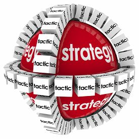 pic of objectives  - Strategy and tactics to achieve success in goal - JPG