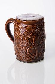 stock photo of stein  - mug of beer - JPG