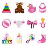 pic of girl toy  - girl baby object - JPG