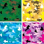 Azulejo de camuflaje