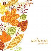 autumn vertical background