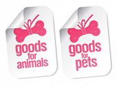 doods for pets stickers set