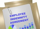 Employee Indemnity Agreement - Business Concept poster