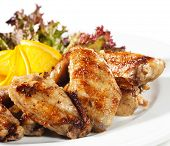 picture of chicken wings  - Hot Meat Dishes  - JPG