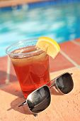 Ice Tea And Sunglasses