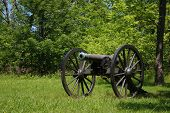 Civil War Cannon At Wilsons Creek