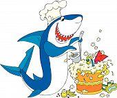 Cook Shark poster