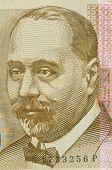 Porträt von 200 Kuna kroatischen banknote