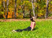 Yoga Urdhva Mukha Shvanasana Pose