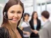 Friendly customer service consultants
