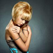 Fashion Portrait Of Young Beautiful Girl