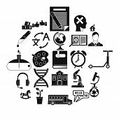 New Discoveries Icons Set. Simple Set Of 25 New Discoveries Icons For Web Isolated On White Backgrou poster
