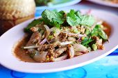 Spicy Salad Of Grilled Pork poster