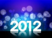 2012 Happy New Year Background