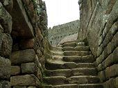 Stairs In Machu Picchu