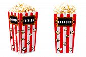 picture of matinee  - popcorn buckets - JPG