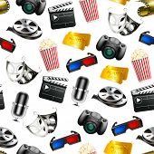 stock photo of movie theater  - Film - JPG