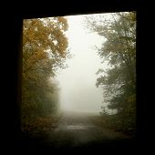 Tunnel With Fog