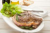 picture of t-bone steak  - T - JPG
