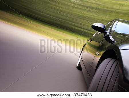 car in turn