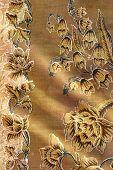Brown Batik Floral Sarong