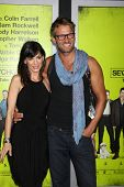 LOS ANGELES - OCT 30:  Perrey Reeves, Johann Urb  at the