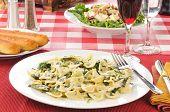 Chicken Florentine And Farfalle