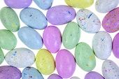 Layer Speckled Candy Eggs
