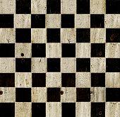 Vintage cuadros fondo de tablero de ajedrez.