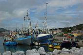 Fishing Ships In Dingle Harbour