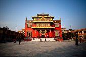 Shechen monastery in Boudhanath, Nepal