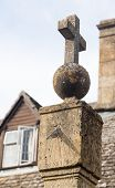 Old Sundial In Stanton Cotswolds