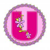 Alphabet Daisy Chain U