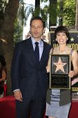 LOS ANGELES - OCT 3: Gale Anne Hurd, Andrew Lincoln at a ceremony as Gale Anne Hurd is honored with