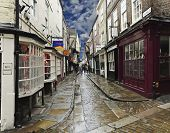 A Look At The Shambles, York, England