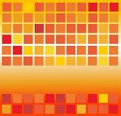 Orange Square Background