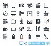 Conjunto de iconos universales 02