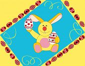 Yellow Easter Rabbit
