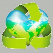 Earth Heart Icon