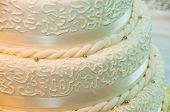 Wedding Cake Close-up