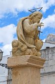 Padre Eterno statue. Presicce. Puglia. Southern Italy.