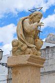 Padre Eterno statue. Presicce. Puglia. Southern Italy.