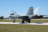 image of f18  - photographed f18 fighter jet at an air show in florida - JPG