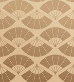 Elegant Japan Fan Pattern